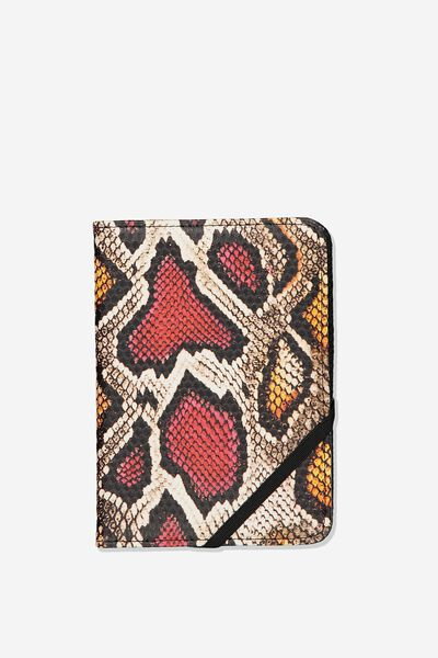 Rfid Passport Holder, MULTI SNAKE