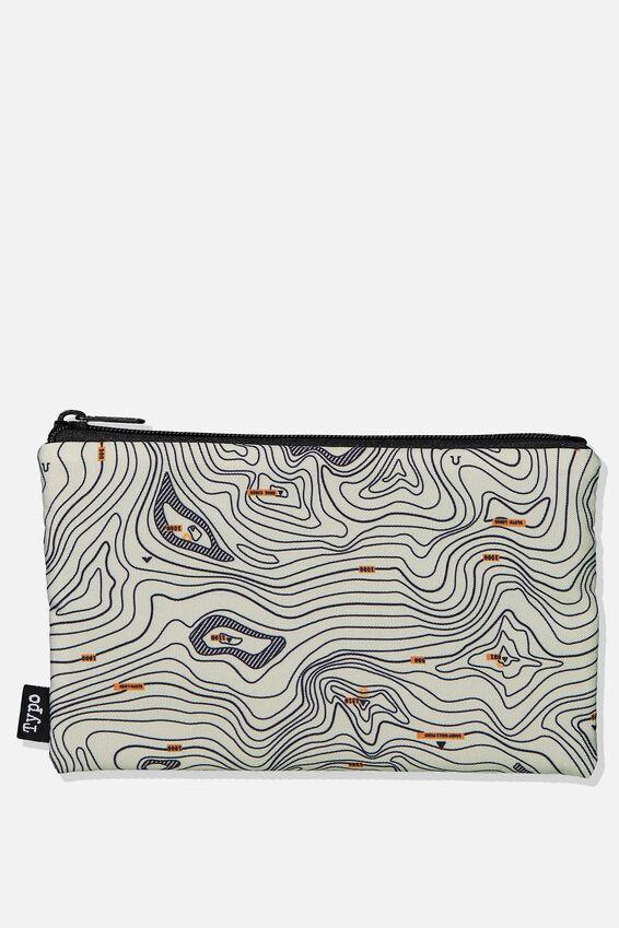 Archer Pencil Case, TOPOGRAPHICAL MAP