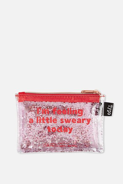 Shake It Coin Purse, PINK SWEARY!