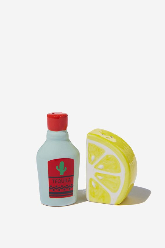 Novelty Shakers, TEQUILA & LEMON!