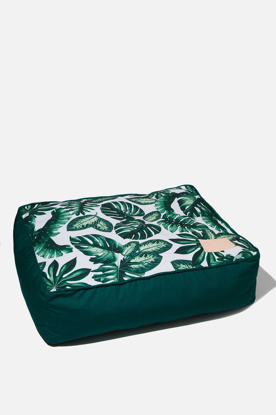 Small Printed Pet Bed, FOLIAGE