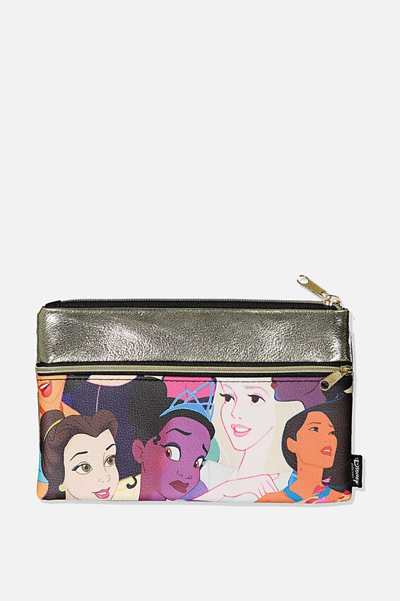 Disney Archer Pencil Case, LCN DIS GN PRINCESS