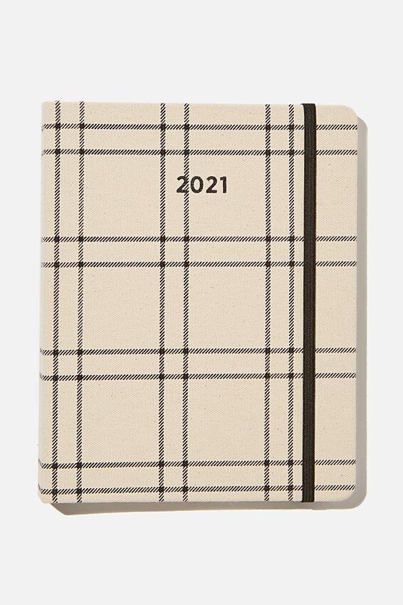 2021 Premium Planner, DASHED GRID