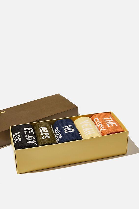 Box Of Socks, SWEARING HELPS!!
