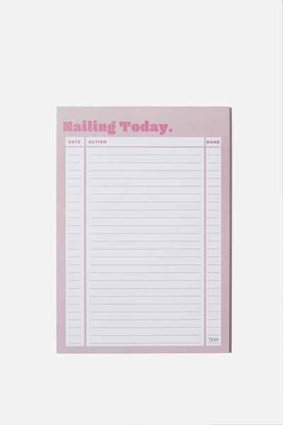 A5 Plan Ahead Planner, NAILING TODAY