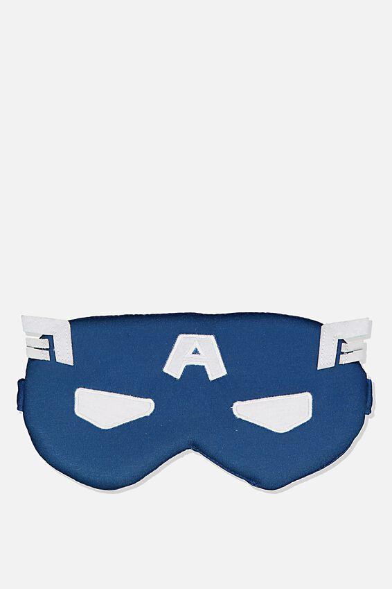 Premium Sleep Eye Mask, LCN MARVEL CAPTAIN AMERICA