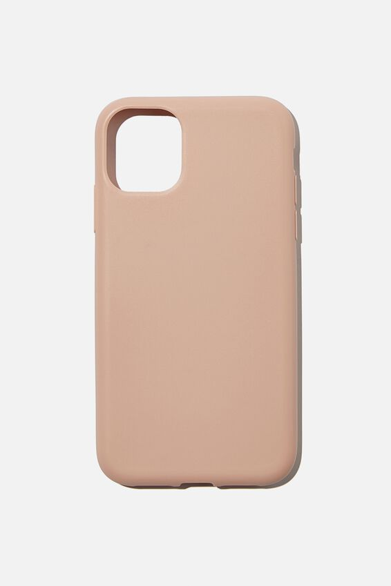 Recycled Phone Case iPhone 11, NUDE PINK
