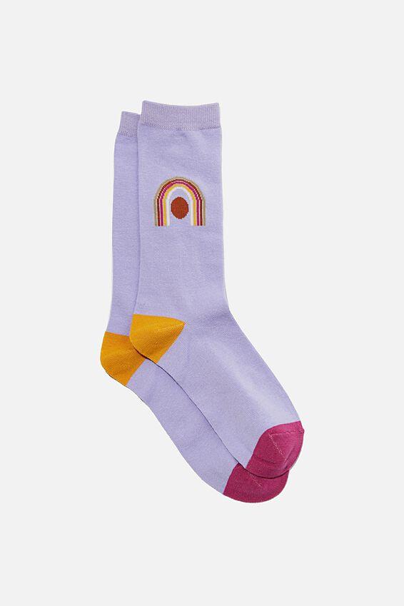 Socks, LILAC ARCH