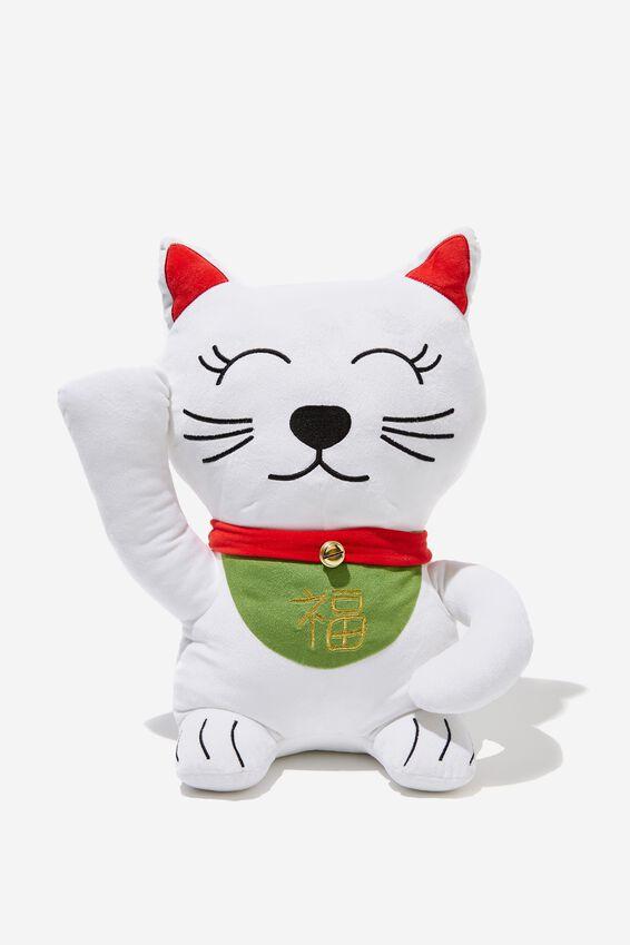 Get Cushy Cushion, LUCKY CAT