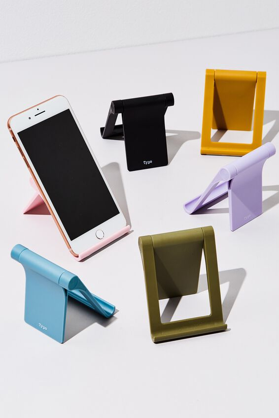 Collapsible Phone Stand, KHAKI