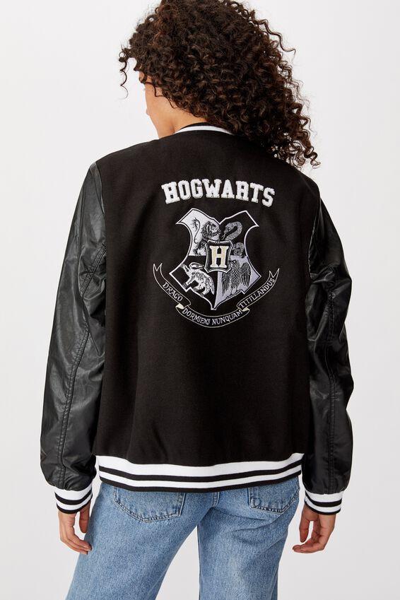 Harry Potter Bomber Jacket, LCN WB HPO HOGWARTS COLLEGIATE