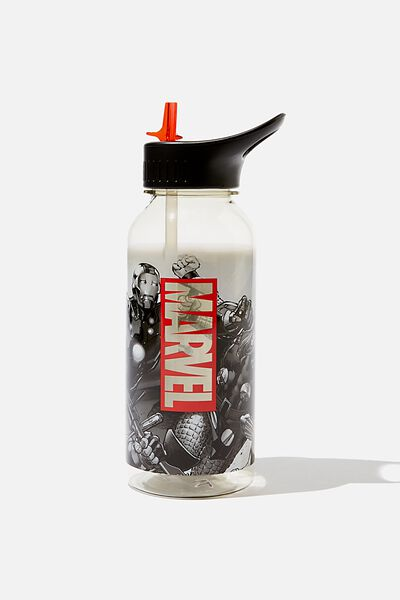 Drink It Up Bottle, LCN MARVEL GREYSCALE AVENGERS