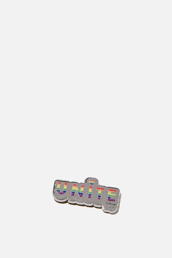 Licensed Metal Stickers, LCN DIS PD UNITE
