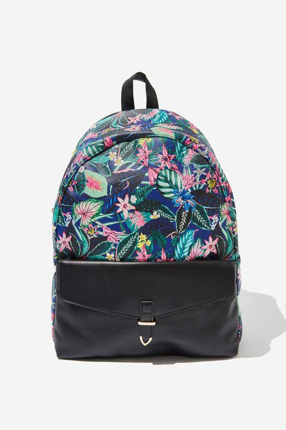 Scholar Backpack, RESORT FLORAL