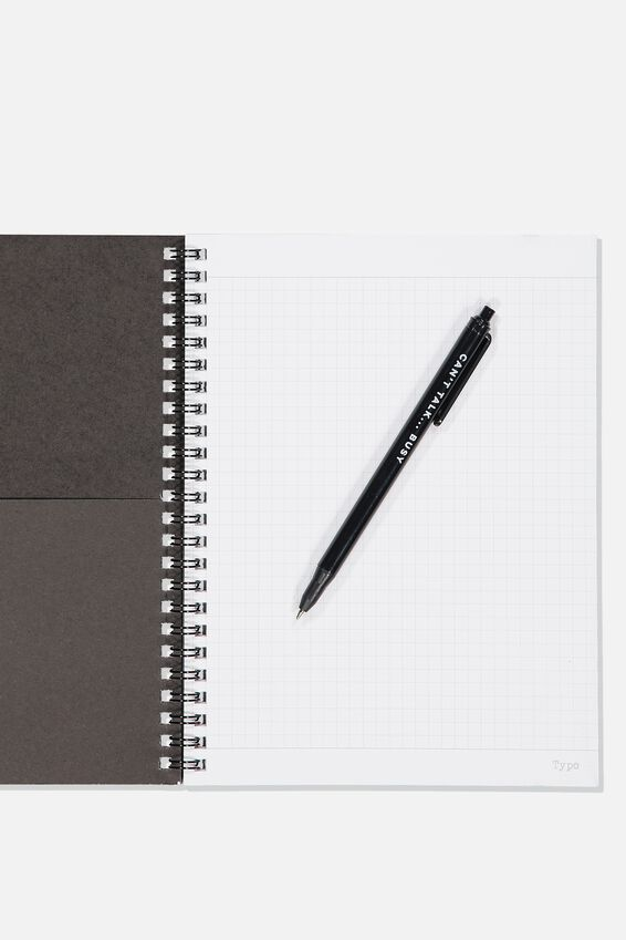 A5 Spinout Notebook Grid Internal, DOG NAMES