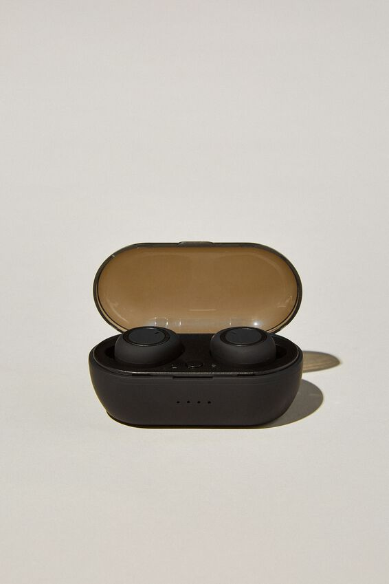 Wireless Earbuds, MATTE BLACK