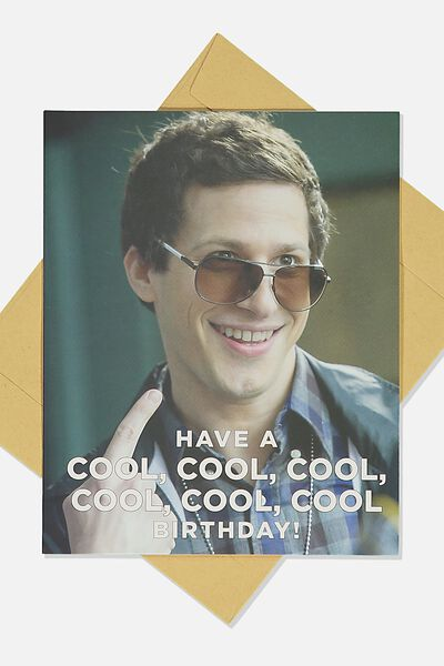Funny Birthday Card, LCN BROOKLYN COOL COOL BIRTHDAY