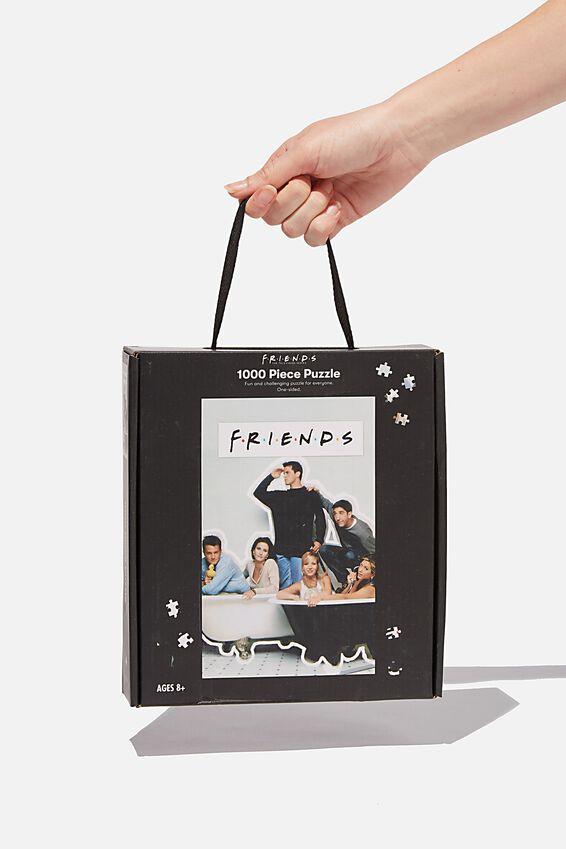 Friends 1000 Piece Puzzle, LCN WB FRI FRIENDS BATH
