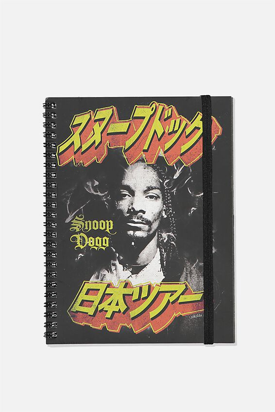A5 Snoop Dogg Spinout Notebook Recycled, LCN MT SNO