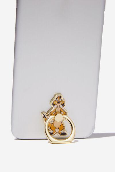 Licenced Metal Phone Ring, LCN DIS TIMON