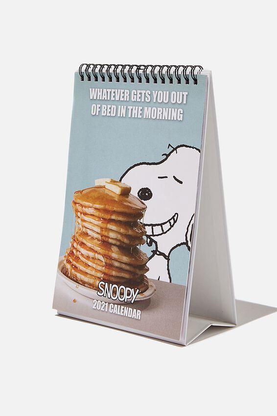 2021 Snoopy Get A Date Flip Calendar, LCN PEANUTS