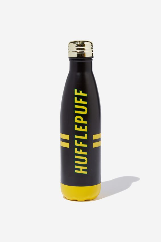 Harry Potter Premium Metal Drink Bottle, LCN WB HUFFLEPUFF
