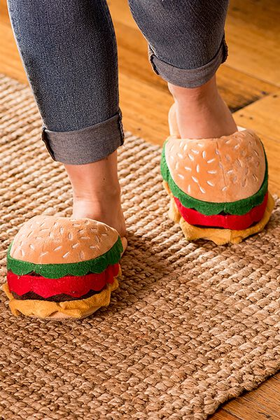 Novelty Slippers, BURGER