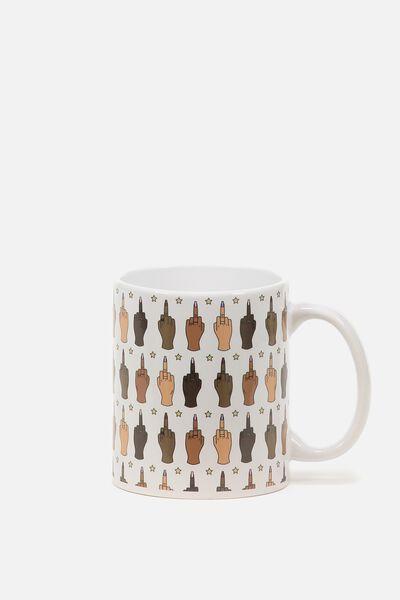 Anytime Mug, RUDE FINGER