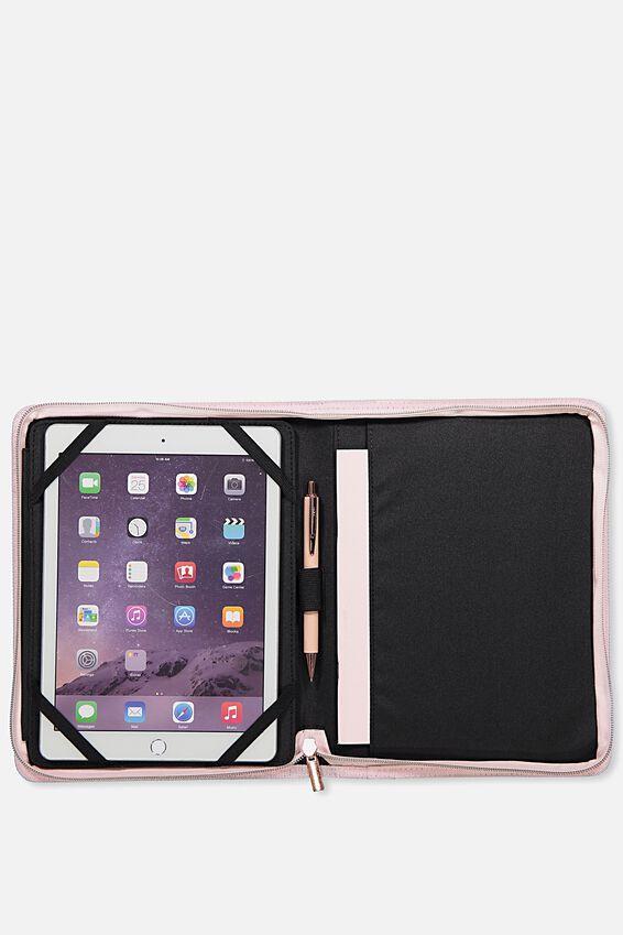 Tablet Compendium, BLUSH PERFORATED