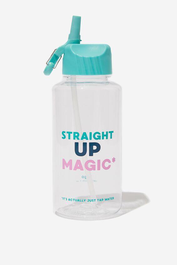 Suck It Up Drink Bottle, STRAIGHT UP MAGIC