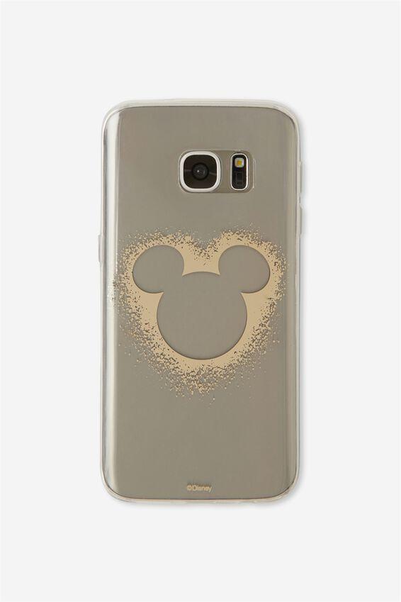 Phone Cover S7, LCN MICKEY HEAD
