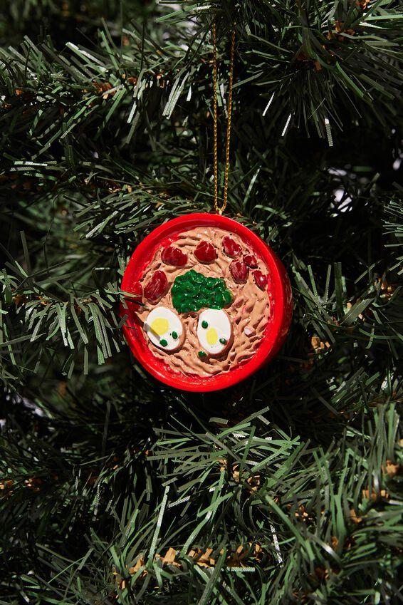 Resin Christmas Ornament, RAMEN BOWL