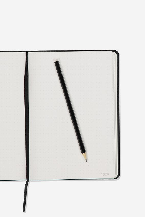 A5 Dot Buffalo Journal, BLACK