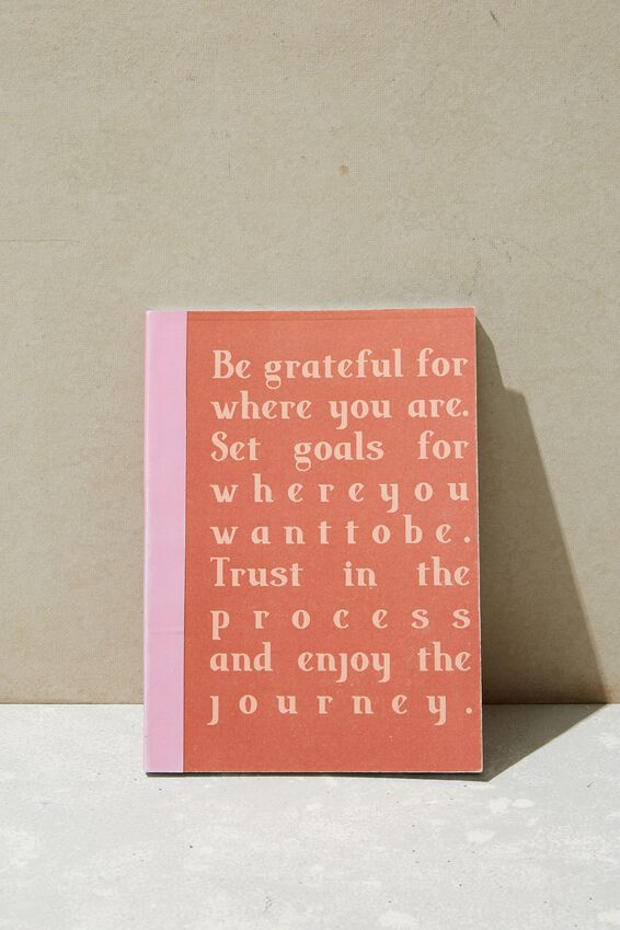 A5 Academy Notebook, BE GRATEFUL