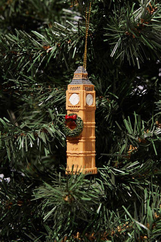 Resin Christmas Ornament, BIG BEN