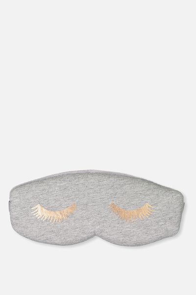 Total Block Out Eyemask, GREY MARLE EYES