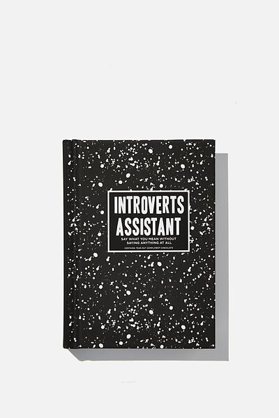 Mini Activity Journal, INTROVERT ASSISTANT