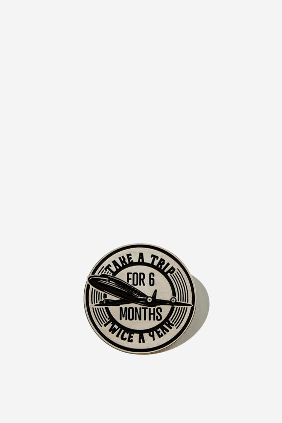 Enamel Badges, TAKE A TRIP