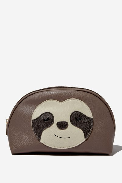 Novelty Cosmetic Bag, SLOTH