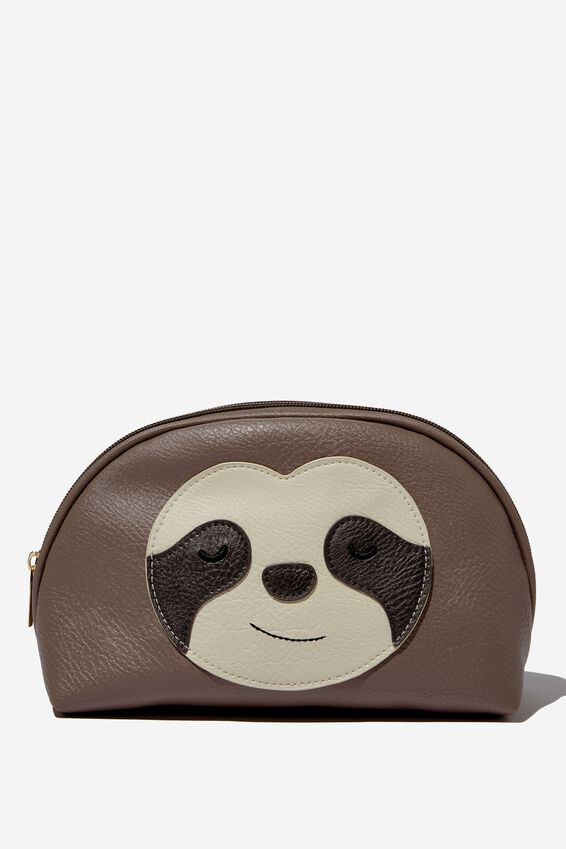 Novelty Cosmetic Bag, SLOTH