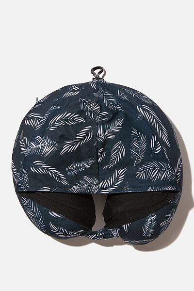 Hooded Travel Neck Pillow, FERNERY