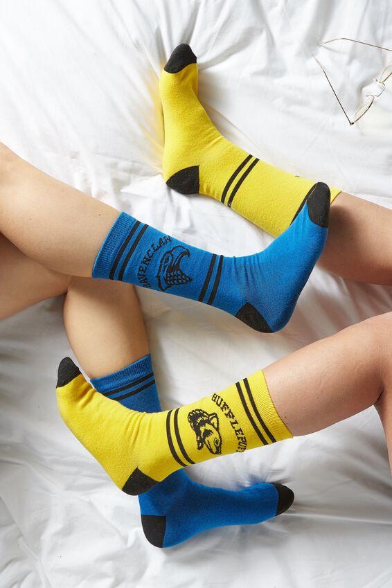 Harry Potter Mens Novelty Socks, LCN WB RAVENCLAW HOUSE