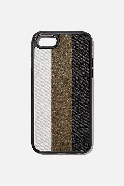 Protective Phone Case 6, 7, 8, SE, EARTH STRIPES