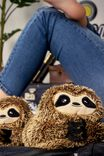 Novelty Slippers, FURRY SLOTH
