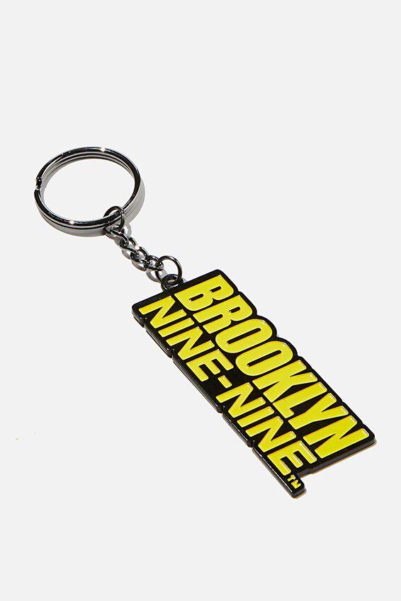 Brooklyn Nine-Nine Enamel Keyring, LCN UNI BR BROOKLYN NINE NINE