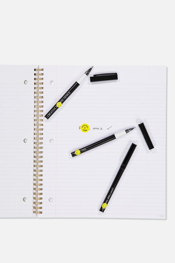 Flash Fash 3 Pk Pens, F*CK IT!!