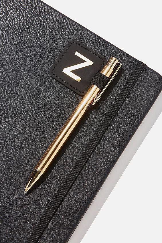 Pen Loop Sticker, BLACK Z