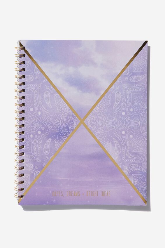 A4 Campus Notebook, LACE SPLICE