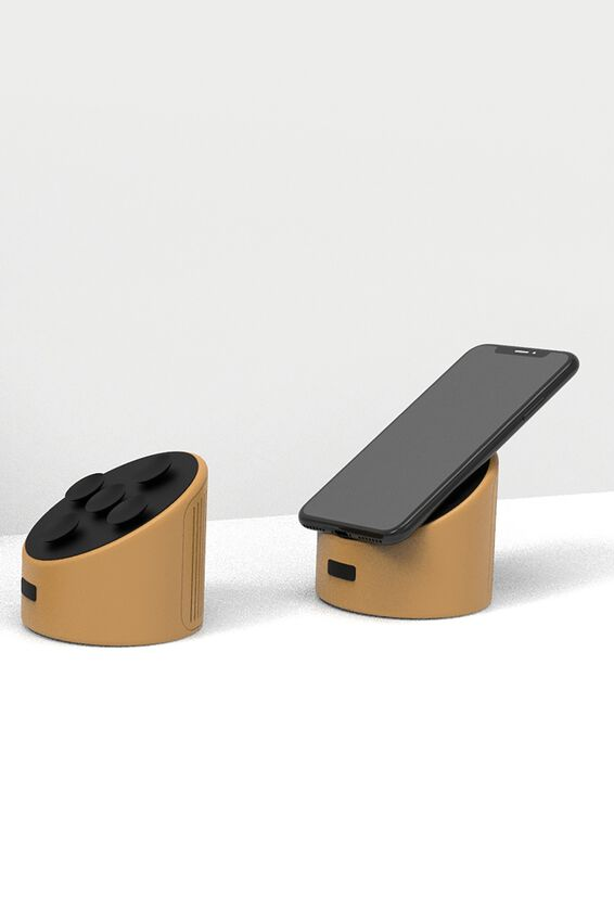 Wireless Speaker, PREMIUM A.T. MUSTARD