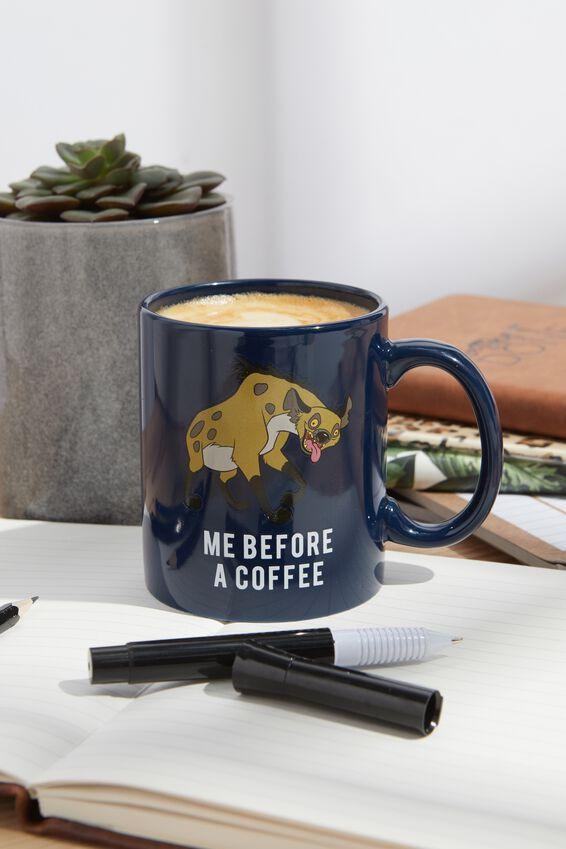 Lion King Anytime Mug, LCN DIS BEFORE A COFFEE